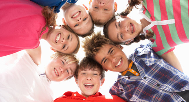 Kids Enjoying Summer Camp